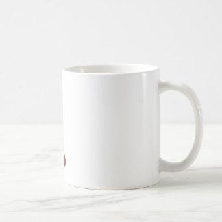 Red plunger coffee mug