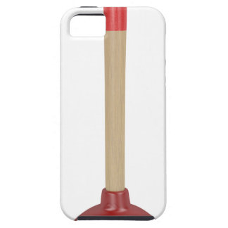 Red plunger iPhone 5 case