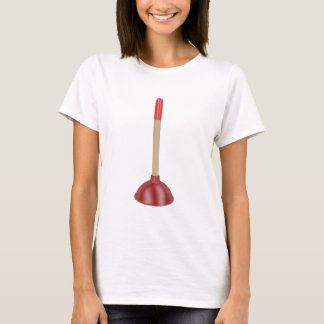 Red plunger T-Shirt