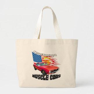 Red Plymouth Barracuda Canvas Bag