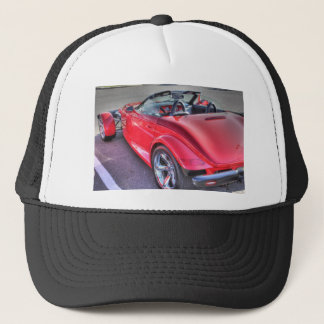 Red Plymouth Prowler Cool Car Cars Retro Trucker Hat