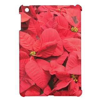 Red  Poinsettia Case For The iPad Mini