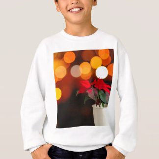 Red Poinsettia flower Sweatshirt