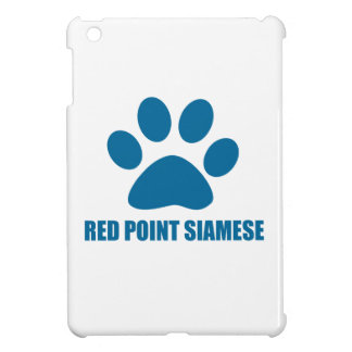 RED POINT SIAMESE CAT DESIGNS iPad MINI COVERS
