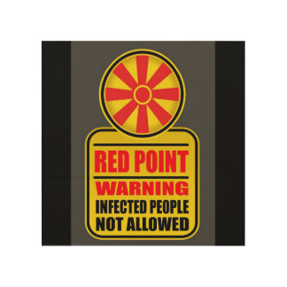 Red Point Warning Sign