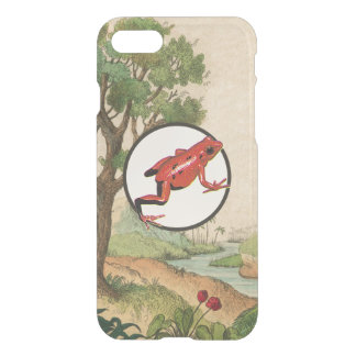 Red Poison Dart Frog Natural Habitat Illustration iPhone 7 Case