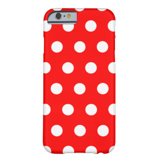 Red Polka Dot iPhone 6 case