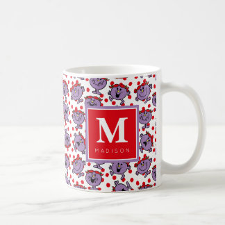 Red Polka Dot Pattern | Add Your Name Coffee Mug