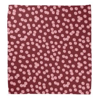 Red Polka Dots Bandana