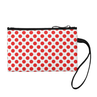 Red Polka Dots Coin Purse