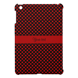 Red Polka Dots Cover For The iPad Mini