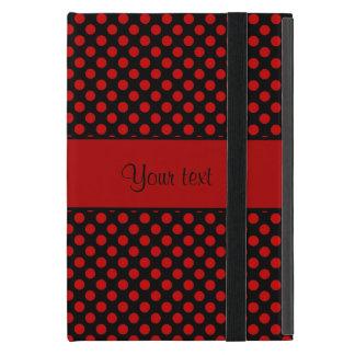 Red Polka Dots iPad Mini Case