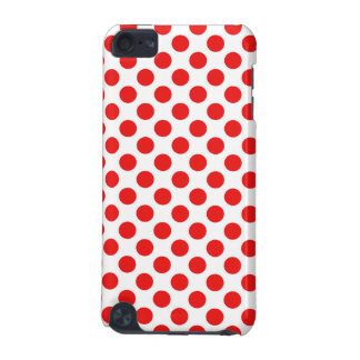 Red Polka Dots iPod Touch (5th Generation) Covers