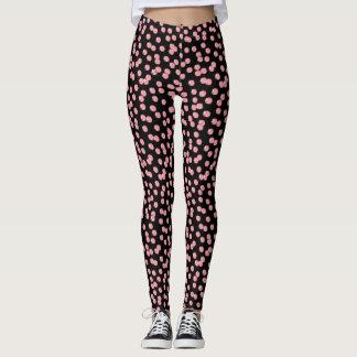 Red Polka Dots Leggings