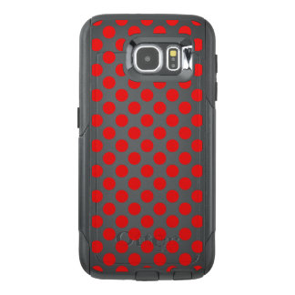 Red Polka Dots OtterBox Samsung Galaxy S6 Case