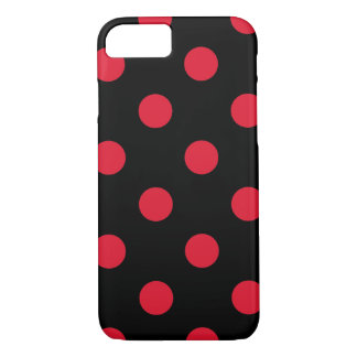 red polka-dots pattern iPhone 7 case