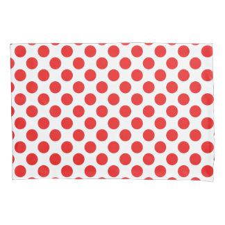 Red Polka Dots Pillowcase