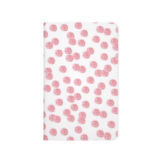 Red Polka Dots Pocket Journal
