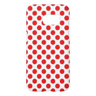 Red Polka Dots Samsung Galaxy S7 Case