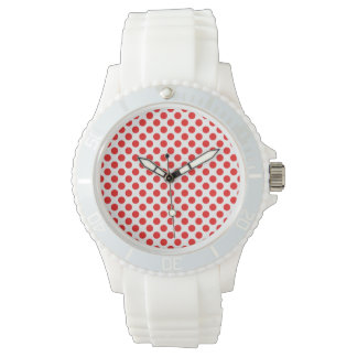 Red Polka Dots Watch
