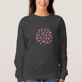 Red Polka Dots Women's Basic Sweatshirt