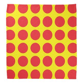 Red Polka Dots Yellow Kerchiefs