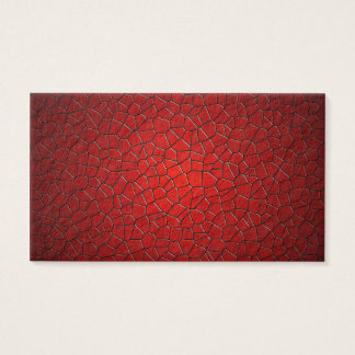 Red Polygons Business Card