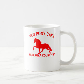 RED PONY CAFE COFFEE MUG