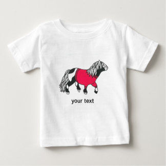 Red pony tee shirt