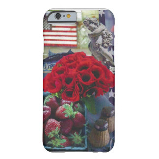 Red Poppies Barely There iPhone 6 Case