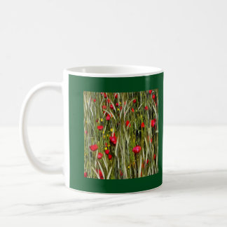 Red Poppies In A Cornfield Coffee Mug
