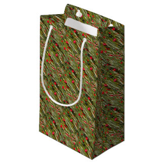 Red Poppies In A Cornfield Small Gift Bag