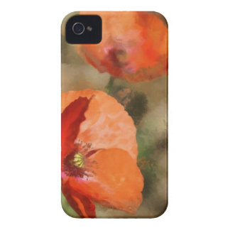 Red poppies iPhone 4 covers