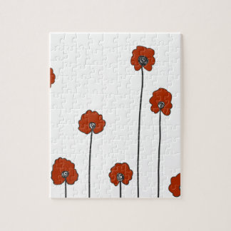 red poppies jigsaw puzzle