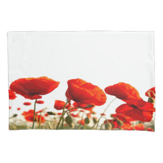Red Poppies Pillowcase