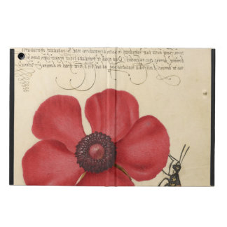 Red Poppy And The Bug iPad Air Cover