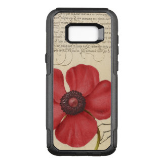 Red Poppy And The Bug OtterBox Commuter Samsung Galaxy S8+ Case