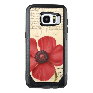 Red Poppy And The Bug OtterBox Samsung Galaxy S7 Edge Case