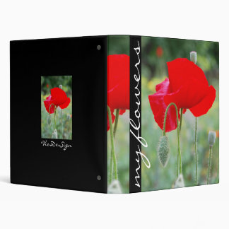 red poppy binder