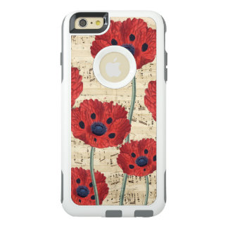 red poppy dream OtterBox iPhone 6/6s plus case