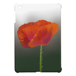 Red poppy Flower iPad Mini Case