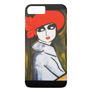 RED POPPY GIRL Case-Mate iPhone CASE