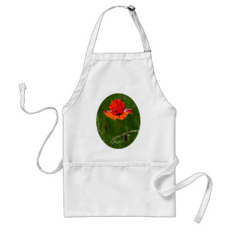 Red poppy in summer 02 standard apron