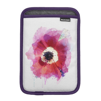 Red Poppy iPad Mini  Vertical #2 iPad Mini Sleeve