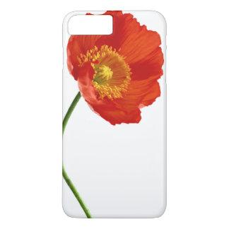 Red Poppy Simplicity iPhone 7 Plus Case