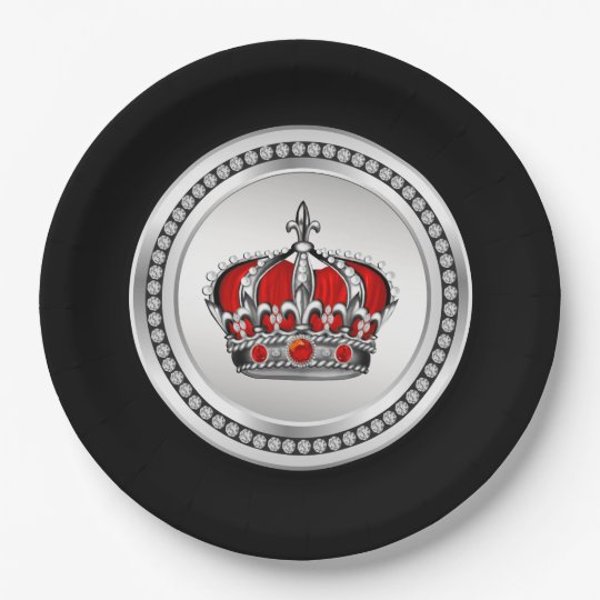 Red Prince Paper Plates