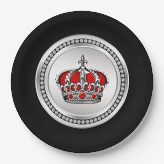 Red Prince Paper Plates 9 Inch Paper Plate