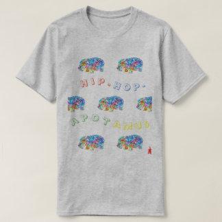 "red puppy ""hip-hop-apotamus"" T-Shirt"