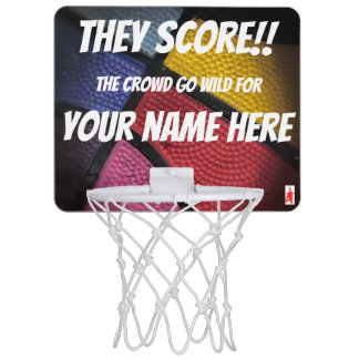 "red puppy ""Score!!"" Mini Basketball Hoop"