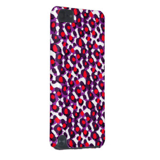 Red Purple Abstract iPod Touch (5th Generation) Case